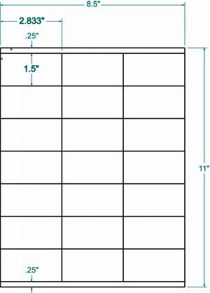 Compulabel® 311354 Square Corner Address Labels, 2.833 X 1.5, 21