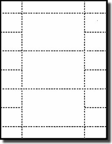 3 by 5 index card template