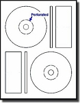 Memorex Format CD & DVD Labels