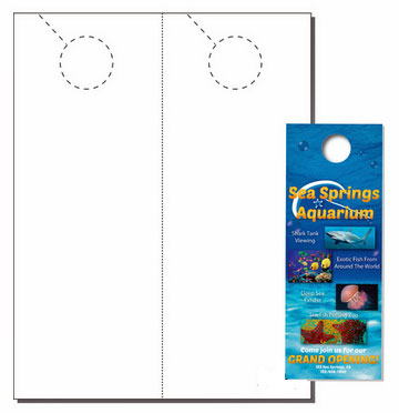 500 Compulabel® 431201 Laser and Inkjet Printable Door Knob Hangers 250 Sheets  sc 1 st  Label Outfitters & 500 Compulabel® 431201 Laser and Inkjet Printable Door Knob ...