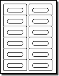 Audio cassette blank labels for laser and inkjet for Word label template 12 per sheet