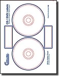 avery templates 8931 - 300 neato clp 192301 compatible 3 per sheet cd dvd for
