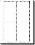 3,300 Compulabel® 311308 Square Corner Blank Printable