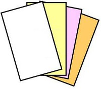 GENUINE NCR® 5917 Digital Carbonless Paper, 8-1/2 x 14, Legal Size, 4 part Reverse Collated