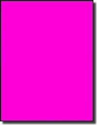 20 Full Sheet 8.5 x 11 Fluorescent Hot Pink Laser Only Full Page Labels or Stickers Avery® 5165 Template