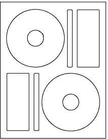 200 laser glossy cd dvd labels memorex format 100 sheets. Black Bedroom Furniture Sets. Home Design Ideas