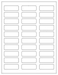White matte laser inkjet labels page 2 for Avery 6870 template