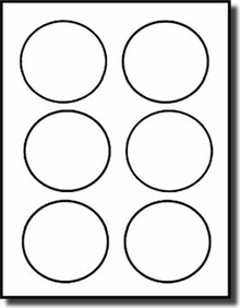 7 inch diameter circle template - 3 inch diameter round labels 600 labels 6 stickers per