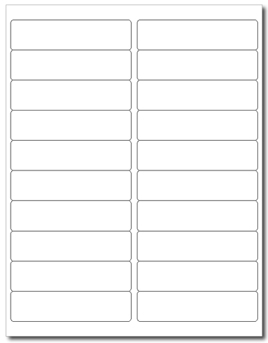 Avery® 5161, Compulabel® 311951, Uline® S-5960 Template, 100 Sheets