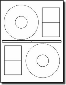 40 Picture Perfect Cd Dvd Labels Photo Quality Matte
