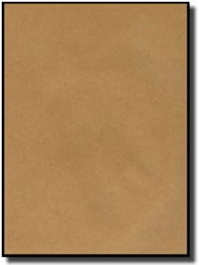picture about Printable Kraft Paper titled 100 Brown Kraft Labels, 8.5