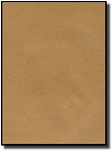 20 Brown Kraft Full Page or Full Sheet 8.5 x 11 Labels use Avery® 85783 template, 20 Sheets