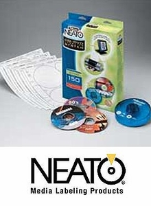 Genuine Fellowes Neato Cd Dvd Labeling System Softwar