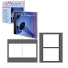 CLOSEOUT ITEM - Genuine Neato® CIP-192379 Photo Matte Jewel Case Inserts for Inkjet and Most Laser Printers - 20 Sets