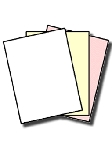 GENUINE NCR® 5909 Superior Digital Carbonless Paper 3 Part, White, Canary, Pink Letter Size, 8.5