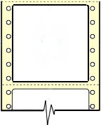 Compulabel® 111554 Continuous Labels, 2-3/4 by 2-3/4 inches One Across, 2,500 Labels per Box