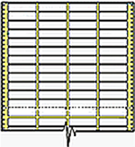 Compulabel® 140905 Cheshire Mailing Labels, Four Labels Across, 3.2 x .92 Inches