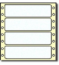 5,000 Compulabel® 162450 Frosty Clear Polyester Continuous Form Labels, 3-1/2 x 15/16