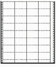 Compulabel® 250356 Continuous USPS Postal Service Tray Tags, 3.2