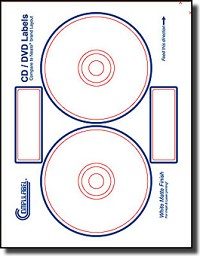 40 Compulabel® 312693 Neato® CLP-192217 Compatible CD Labels
