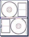 200 Compulabel®  378022 Photo Glossy CD / DVD / CDR Labels Stomper®  Pro Format