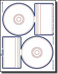 200 Compulabel® 378044 Memorex® Compatible Photo Glossy Inkjet CD, DVD Labels